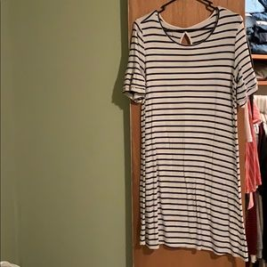 Striped dress from maurices